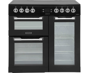 LEISURE 90CM CUISINEMASTER ELECTRIC RANGE COOKER IN BLACK