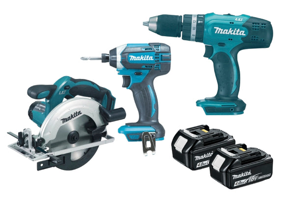 Makita 18V 3 Piece Kit