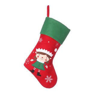 Elf Stocking Red 45cm