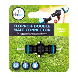 FLOPRO+ DOUBLE MALE CONNECTOR