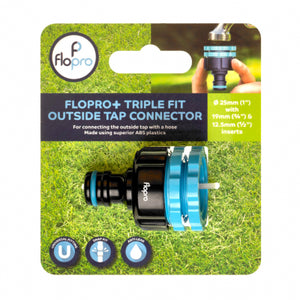 FLOPRO+ TRIPLE FIT OUTSIDE TAP CONNECTOR