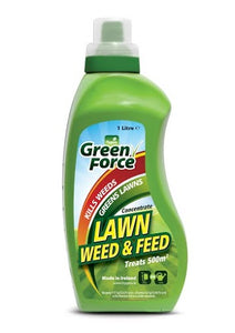 HYGEIA GREENFORCE LAWN WEED & FEED CONCENTRATE 1L