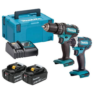 Makita DLX2131TJ 18v LXT 2 Piece Kit with 2 x 5Ah Batteries
