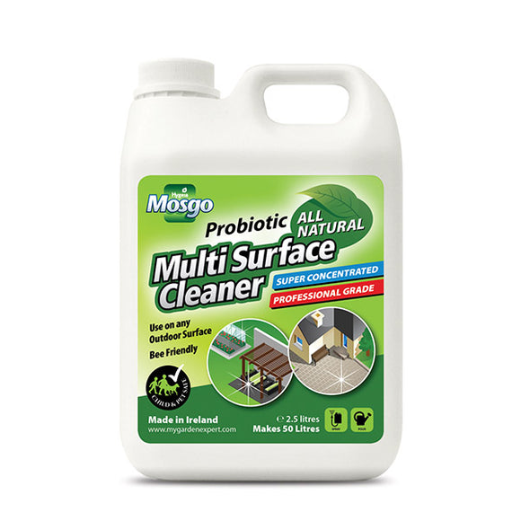HYGEIA MOSGO PROBIOTIC MULTI SURFACE CLEANER 2.5L