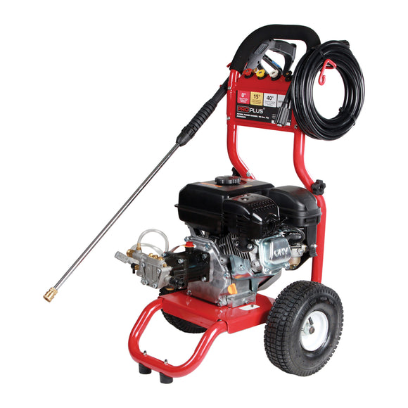 PROPLUS 7HP PETROL PRESSURE WASHER & PUMP 180 BAR