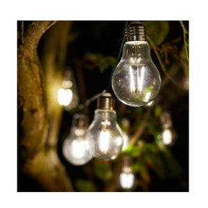 EUREKA RETRO LIGHTBULB STRING LIGHTS | 10 BULBS