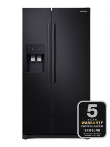Samsung American Fridge Freezer Black | RS50N3413BC/EU