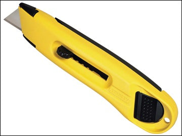 STANLEY L.WEIGHT RETRACTABLE KNIFE