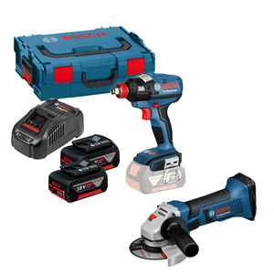 Bosch Professional Impact Drill/Wrench & Grinder Pack