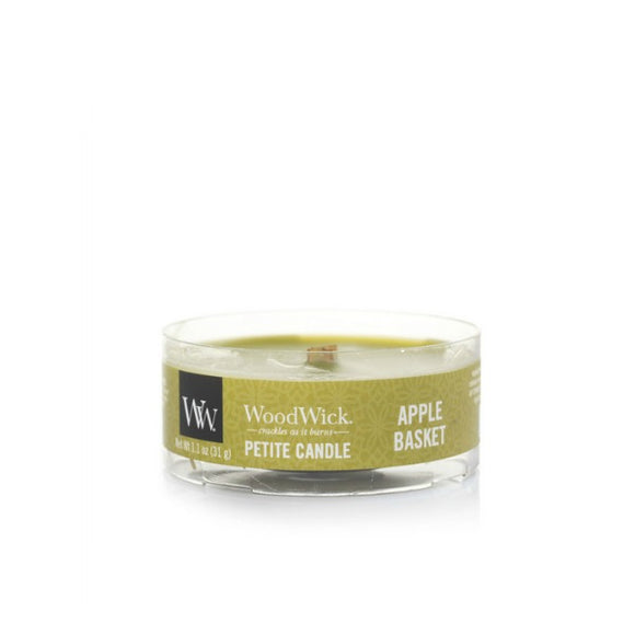 WOODWICK Apple Basket | Petite Candle