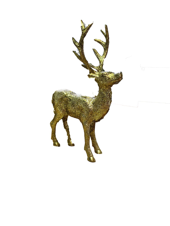 STAGS HEAD ORNAMENT 15CM