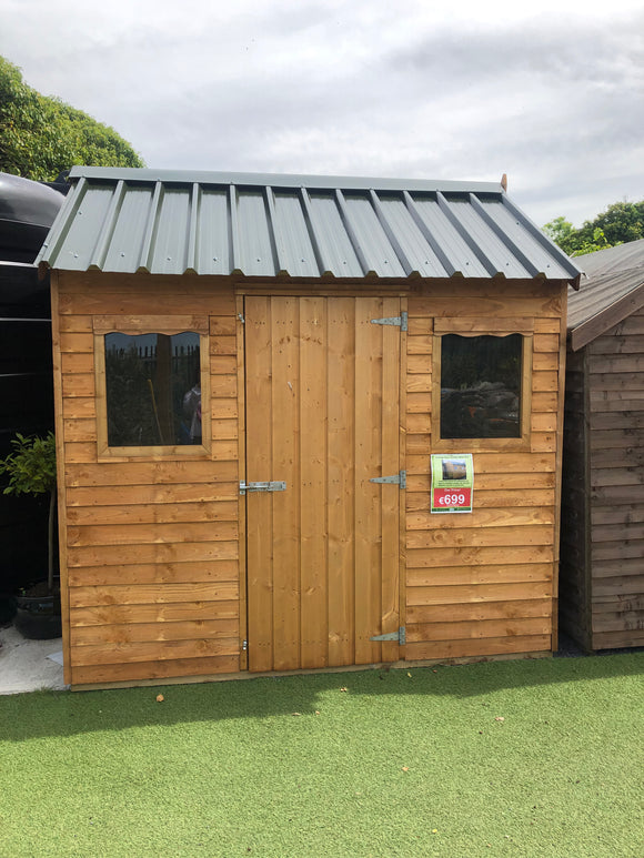 Cottage Style Garden Shed 8 x 6