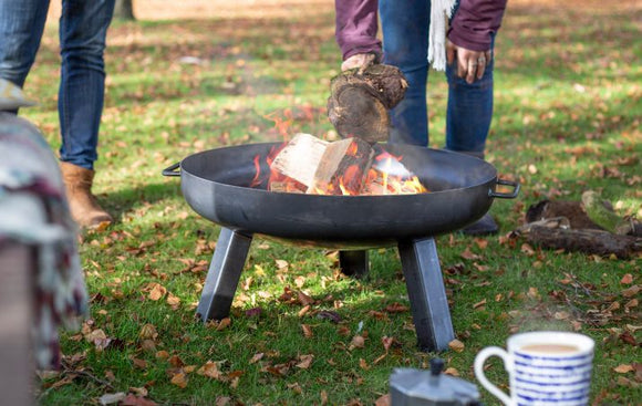 LA HACIENDA PITTSBURGH MEDIUM STEEL FIRE PIT