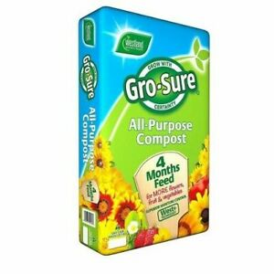 GRO-SURE ALL PURPOSE COMPOST 25L BALE