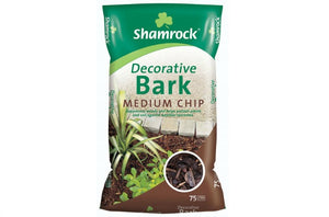 SHAMROCK MEDIUM CHIP BARK 75 LTR