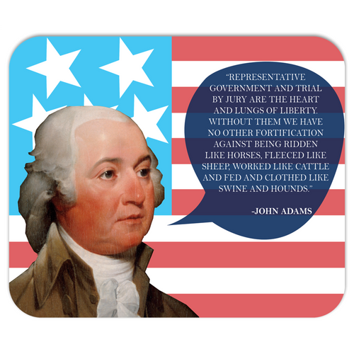 John Adams Mousepad