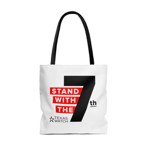 7th Amendment Tote Bag