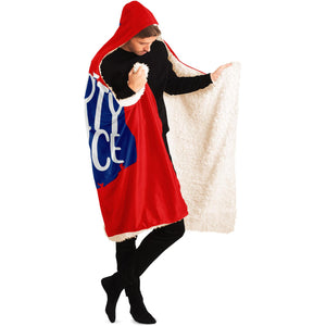 Liberty and Justice for All Hooded Blanket