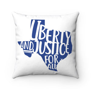 Liberty & Justice Polyester Square Pillow