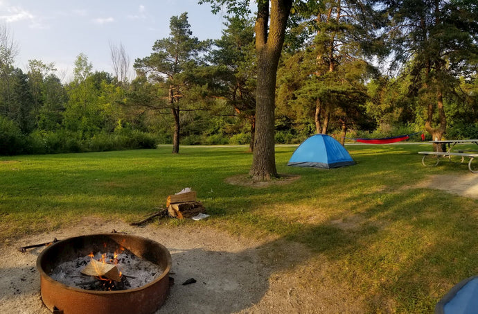 This article about camping near Milwaukee, Wisconsin is brought to you by Gregory