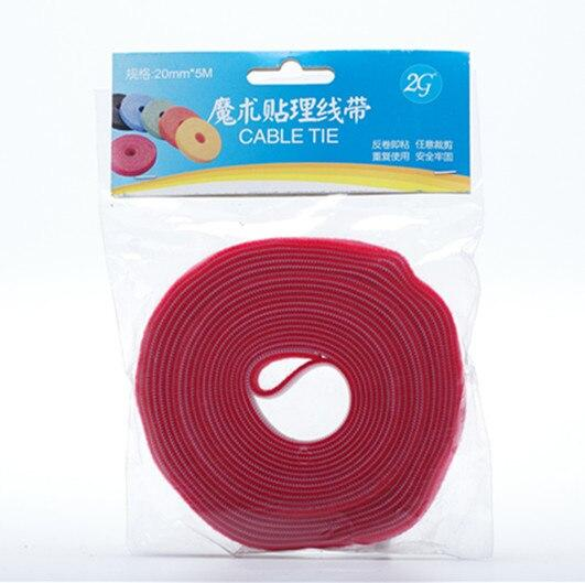 10mmWidth 5meters length self locking Cable Ties, Self-Gripping by injected hook ,back to back strap for computer wire.
