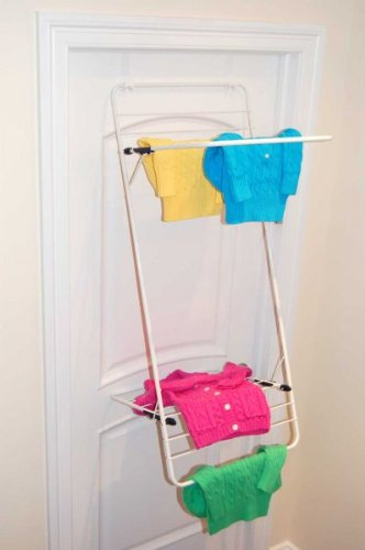 Better Houseware Over Door Laundry Drying Rack, 19.88