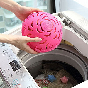 Bhbuy Bra Washing Ball Double Ball Saver Laundry Protector Care (Pink)