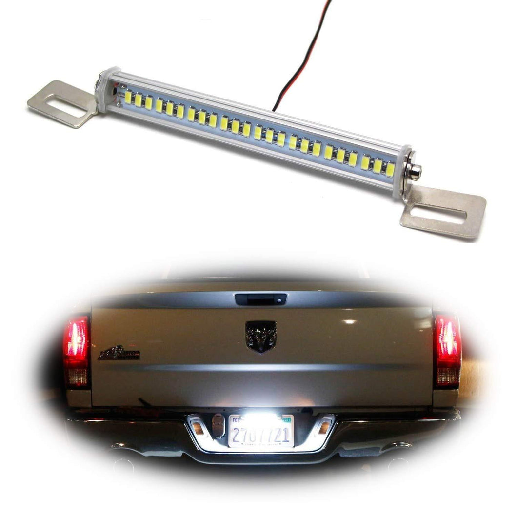 Angle Tilt'able 24-SMD Bolt-On LED Lamps For License Plate Lights or Backup Reverse Lights, Xenon White