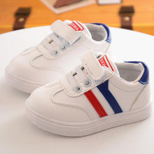 2018 European all seasons breathable children casual shoes unisex pure new brand kids sneakers Hook&Loop baby boys girls shoes