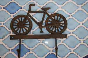 Vintage-look Bicycle Decor, Retro Bicycle Wall Hook, Collectible Bicycle Decorative Gift, Cast Iron, Free Shipping, H-65