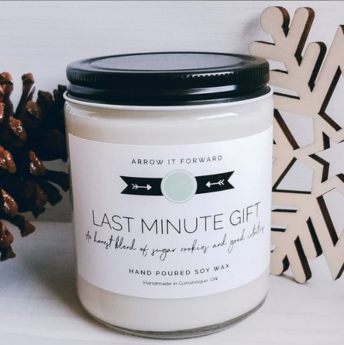 Last Minute Gift Soy Candle