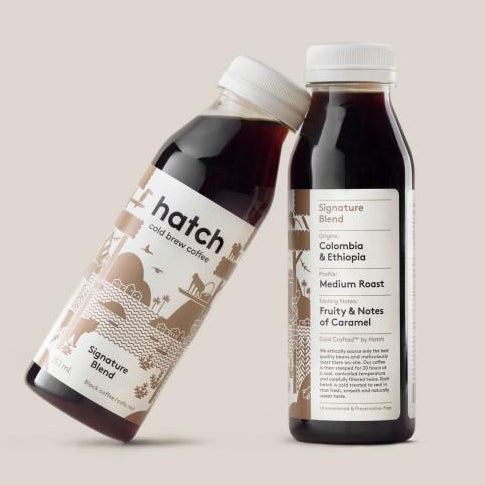 hatch signature cold brew coffee black