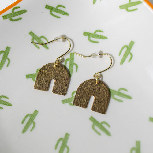 Valley Gold Metal Earrings