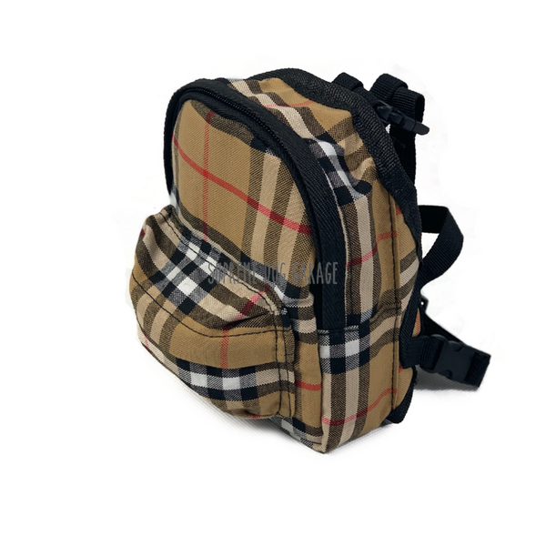 burberry dog backpack harness