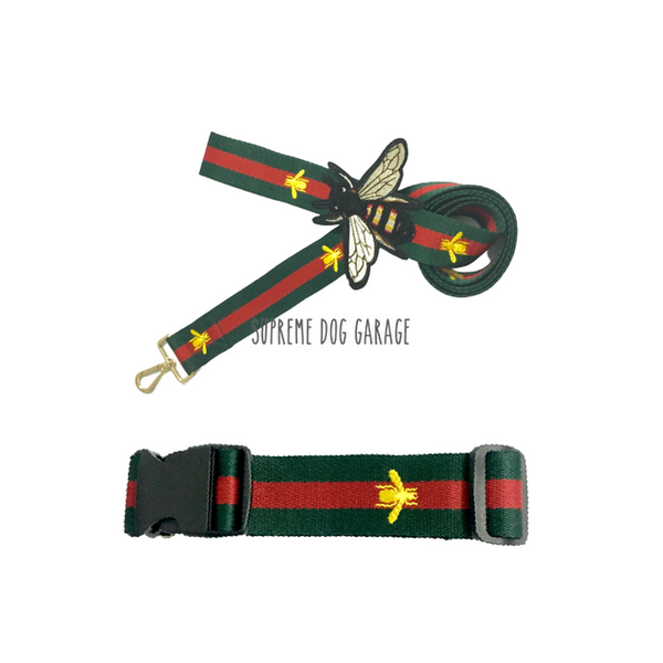 designer dog leash and collar gucci
