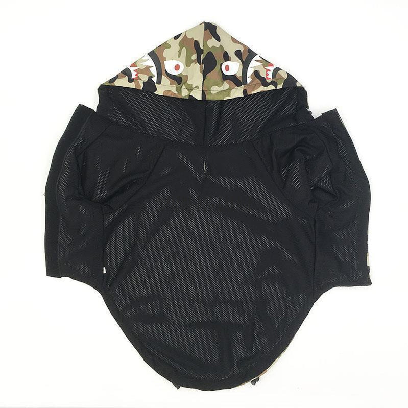 bape dog raincoat with hood