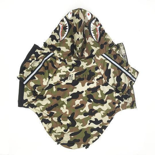 bape dog clothing
