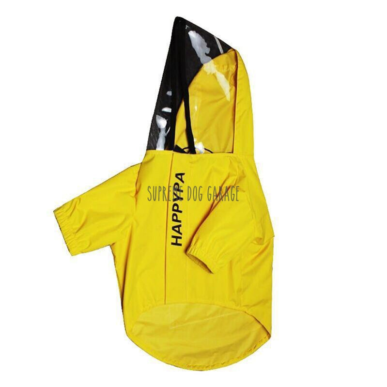 yellow raincoats for dogs