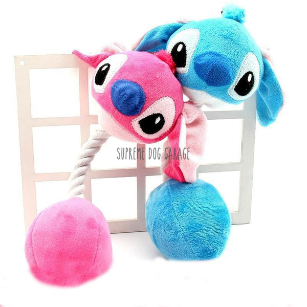 stitch dog toy