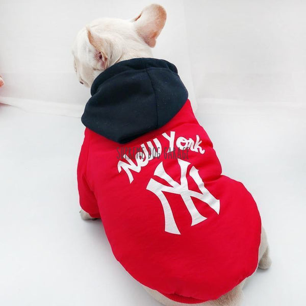 new york dog clothing