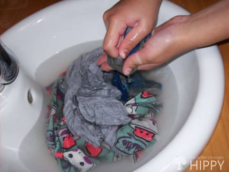 How to Hand Wash Clothes Without Growing Tired