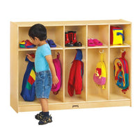 #1046 ThriftyKYDZ¨ Toddler Coat Locker - 5 Sections - ASSEMBLY REQUIRED