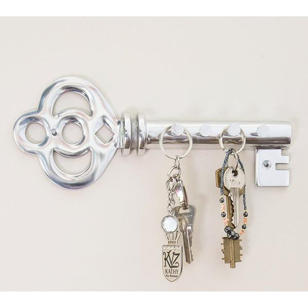 Decorative Wall Mounted Key Holder - Multiple Key Hooks Rack