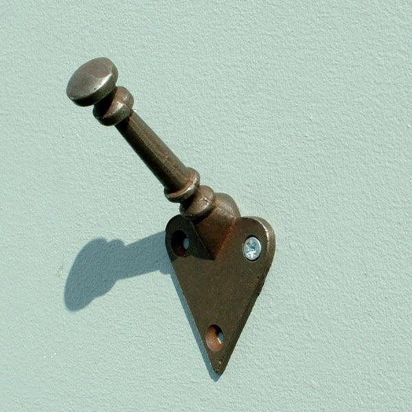 Arts and Crafts style Antique Iron Coat Hook