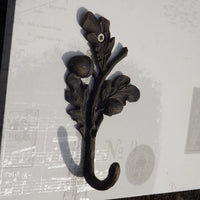 Acorn Branch Coat Hook
