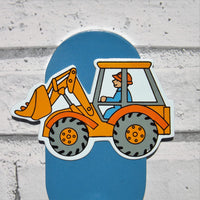 Digger Childrens Coat Hook