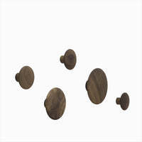 Muuto The Dots - Walnut (Individual and Set of 5)