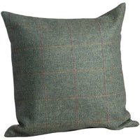 The Yorkshire Collection Tweed Cushion 'Greenfinch'