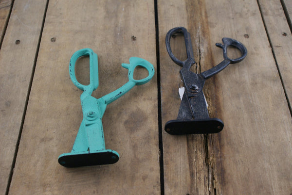 Scissors Cast Iron Coat Hook