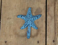Cast Iron Starfish Coat Hook